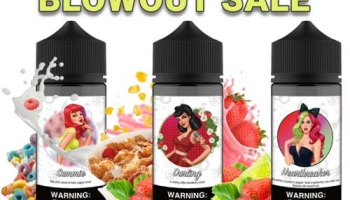 120ml Centerfold Vape Co E-liquids – $5.00