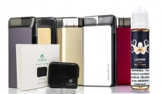 Suorin AIR Plus with Cartridge & E-Juice Bundle – $13.98